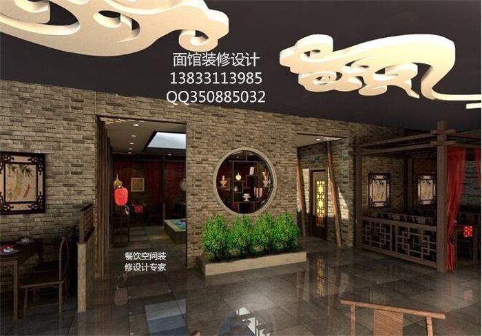 石家庄特色餐饮店面馆如何装修设计赢得人心